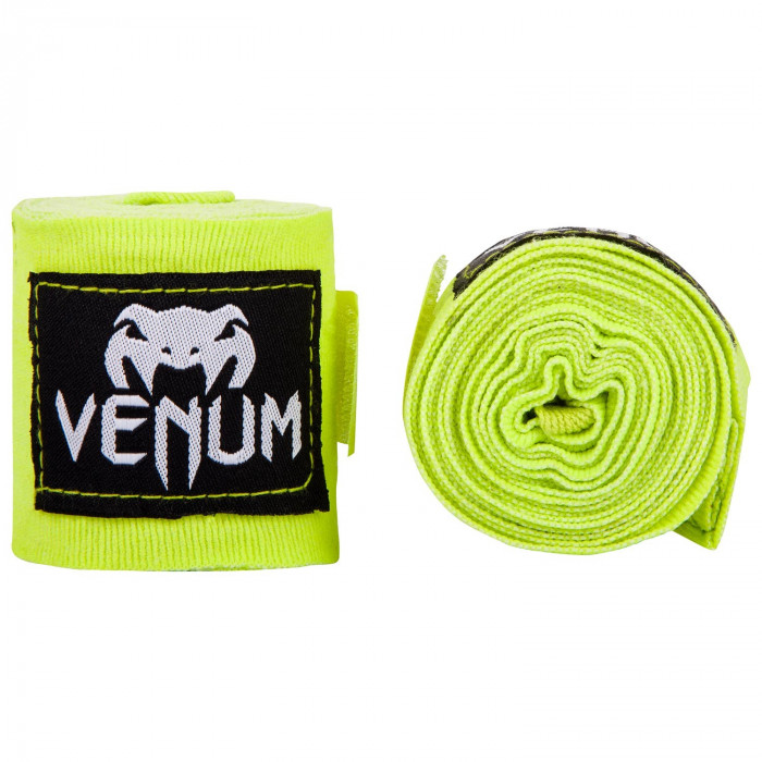 Боксерские бинты Venum Boxing Handwraps (EU-VENUM-0433) Neo Yellow 4 м